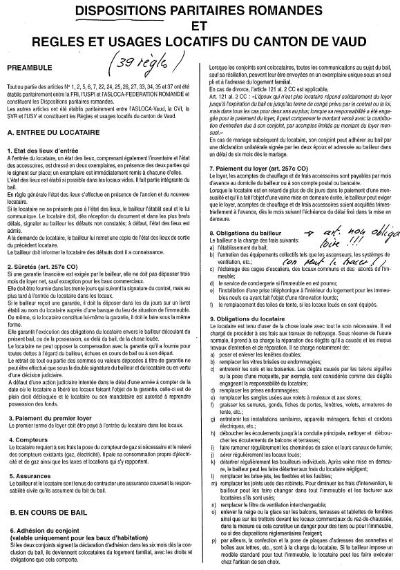 Document Garant Location Appartement