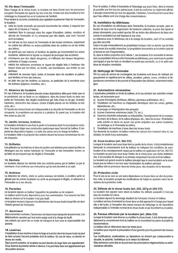 Droit et obligations - Droit des locataires sans bail ...
